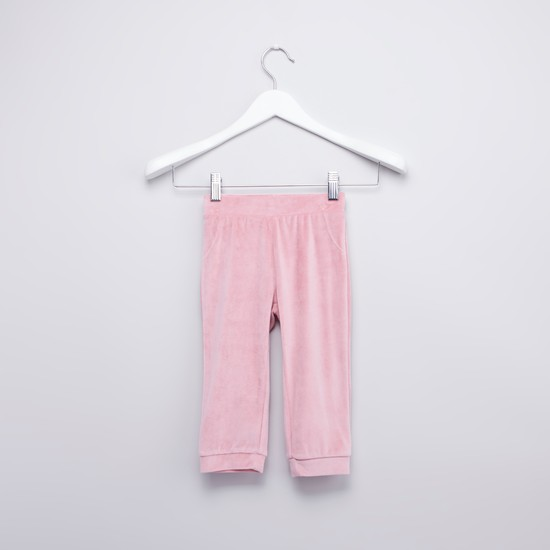 Frill Detail Sweatshirt with Long Sleeves and Jog Pants