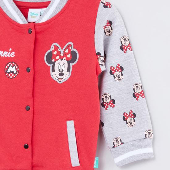 Minnie Mouse Printed Long Sleeves Jacket