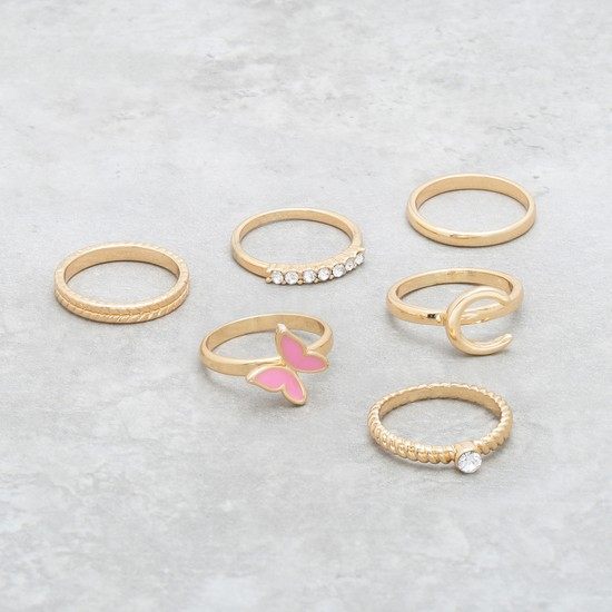 Assorted Ring - Set of 6