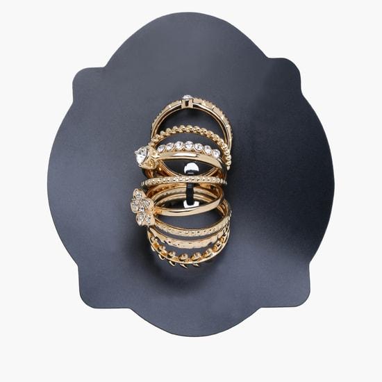 Embellished Ring Set