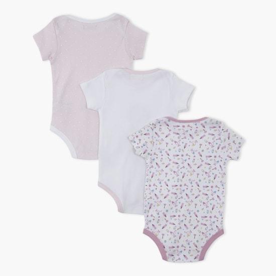 Printed Bodysuit - Set of 3