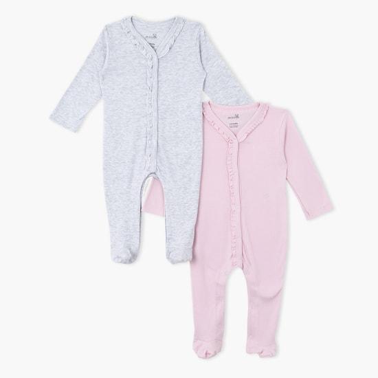 Long Sleeves Sleepsuit - Set of 2