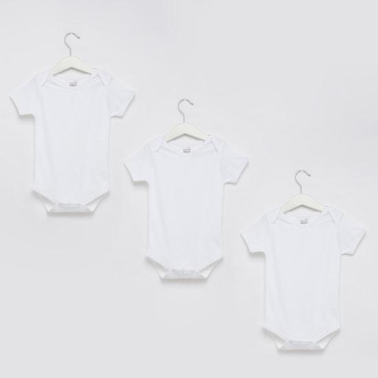 Short Sleeves Bodysuit - Set of 3
