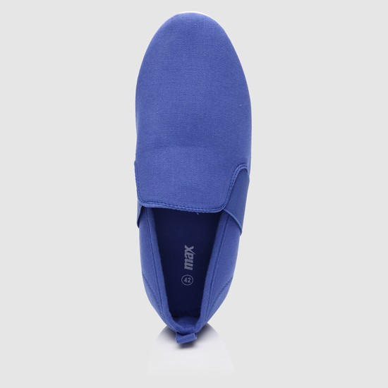 Slip-On Sneakers with Elasticised Sides