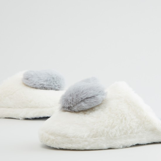 Plush Bedroom Slippers