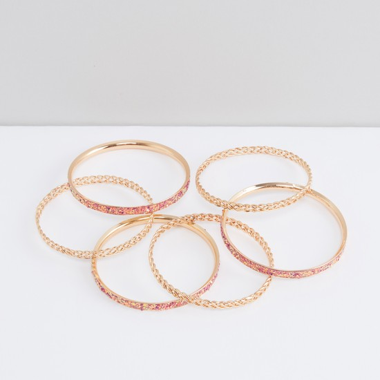 Decorative Bangle - Set of 6