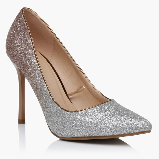 حذاء مريح سهل الارتداء بكعب عال