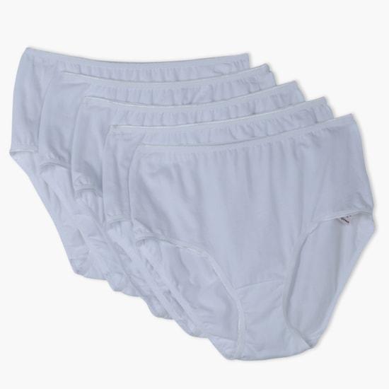 سروال داخلي كامل - مجموعة من خمس قطع