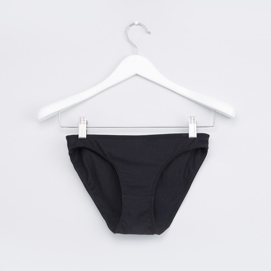 Bikini Briefs with Elasticised Waistband - Set of 5