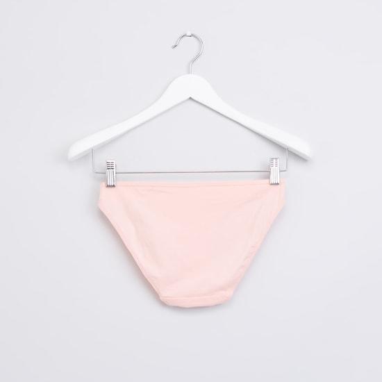 Assorted Bikini Briefs with Elasticised Waistband - Set of 5