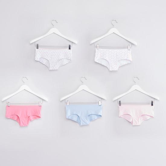 Assorted Boy-Short Panties - Set of 5