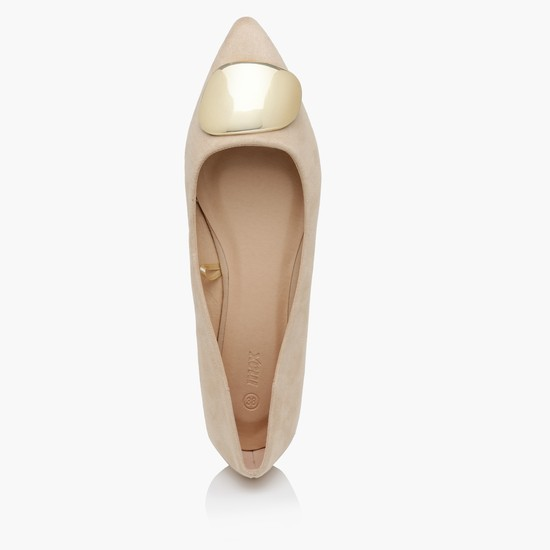 Ballerina Shoes with Applique