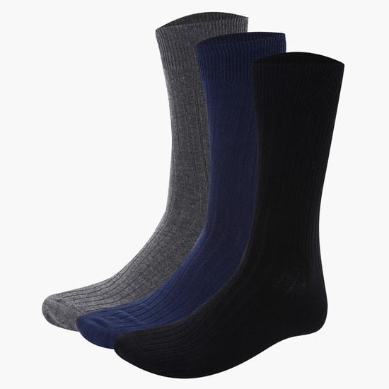 Mid Calf Socks - Set of 3