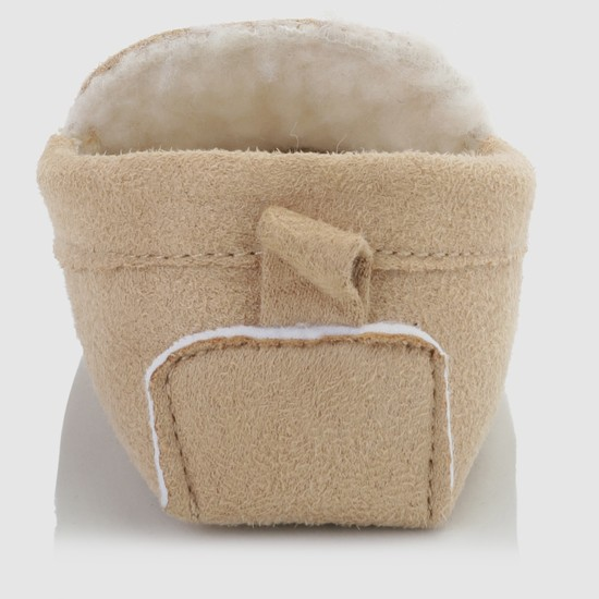 Booties with Plush Detail