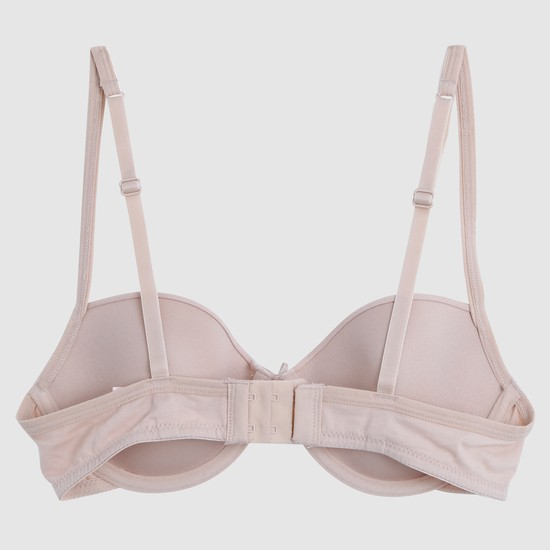 Soft Padded T-Shirt Bra with Underwires