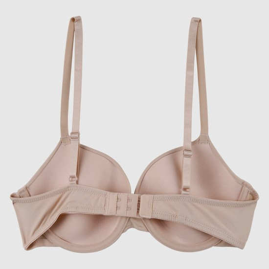 Padded Push-Up Bra with Adjustable Straps