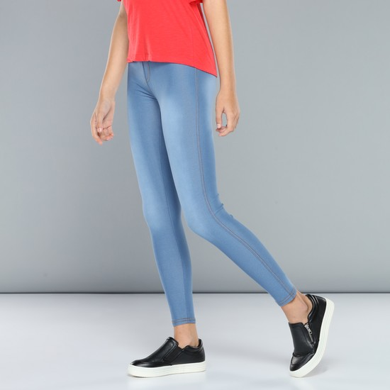 Full-Length Jeggings with Elasticised Waistband