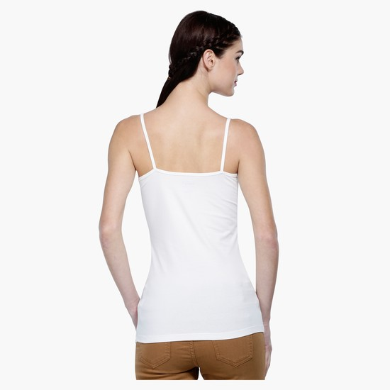 Sleeveless Camisole with Adjustable Straps