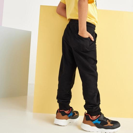 Printed Jog Pants with 3-Pockets and Drawstring