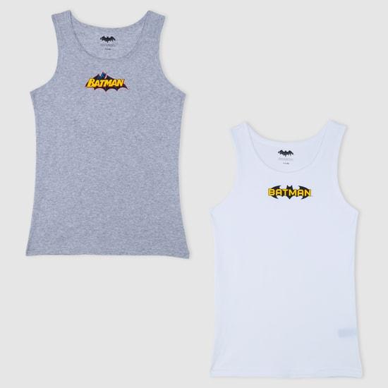 Batman Printed Sleeveless Vest - Set of 2