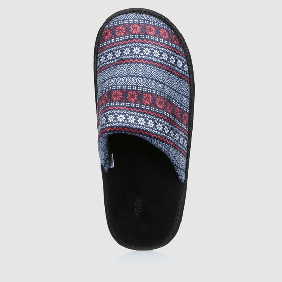 Slip-On Plush Bedroom Slippers