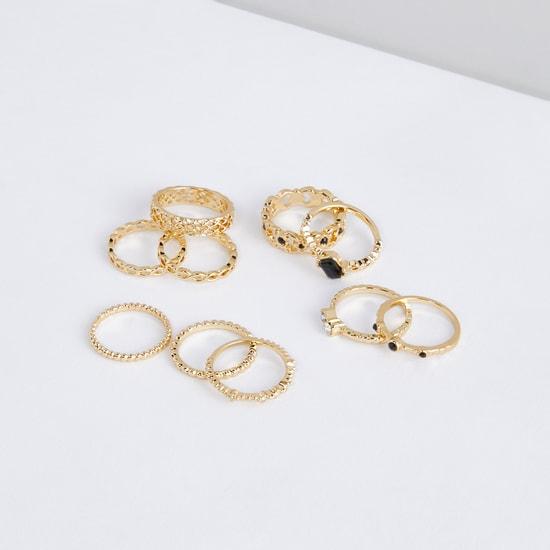 Assorted Finger Rings - Set of 10