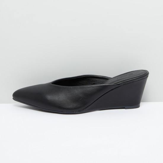 Slip-On Shoes with Wedge Heels