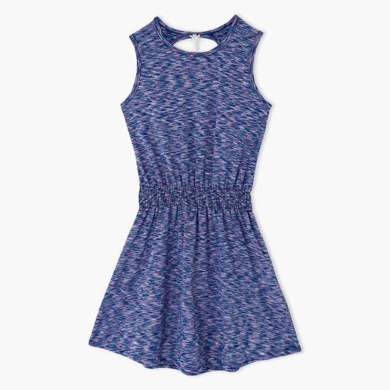 Sleeveless Cutout Back Dress
