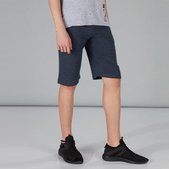 Printed Knit Shorts