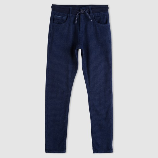 Woven Full Length Pants with Pocket Detail