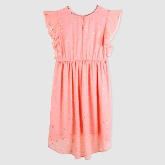 Embellished Round Neck Dress