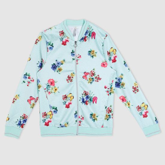 Printed Long Sleeves Jacket