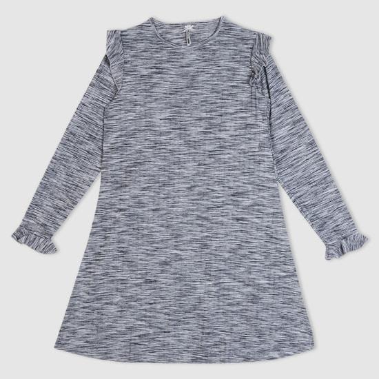 Printed Dress Long Sleeves Dress