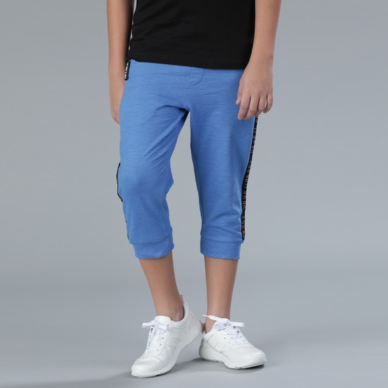 3/4 Jog Pants with Tape Detail