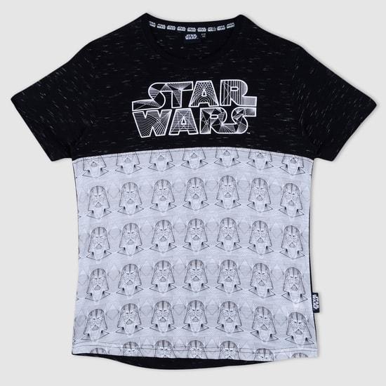 Star Wars Print Short Sleeves T-Shirt