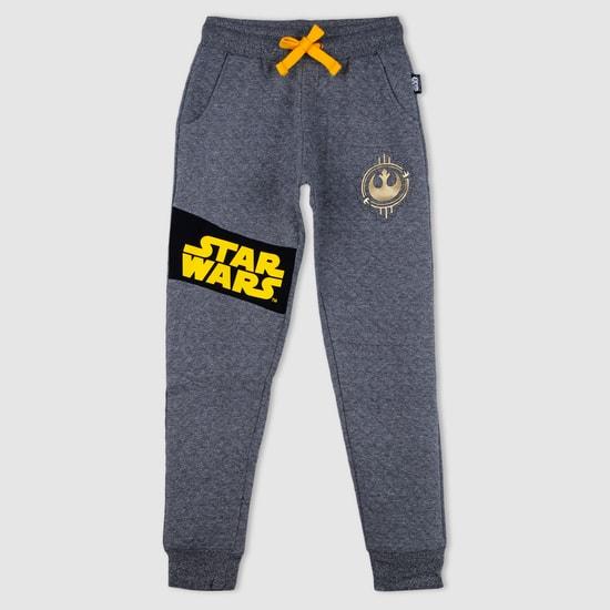 Star Wars Print Quilted Jog Pants