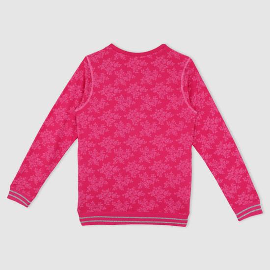 Printed Round Neck Sweater