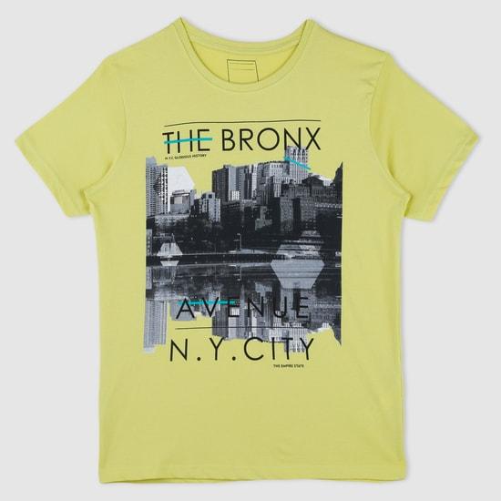 Printed Round Neck T-Shirt
