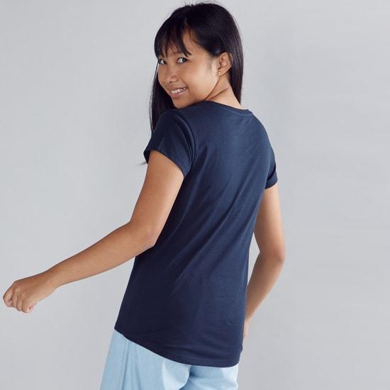 Cherry Much Printed Short Sleeves T-Shirt