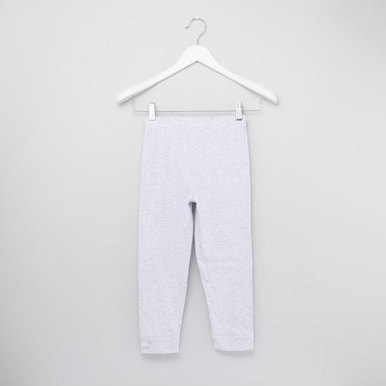 4-Piece Graphic Printed T-shirt and Pyjama Set