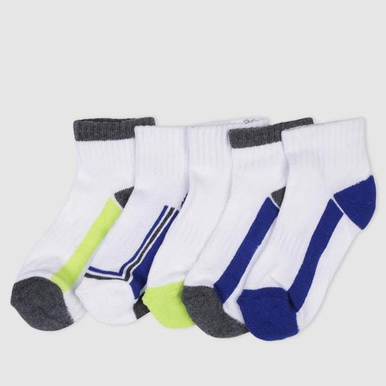 Crew Length Sport Socks - Set of 5