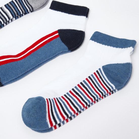 Striped Socks - Set of 3