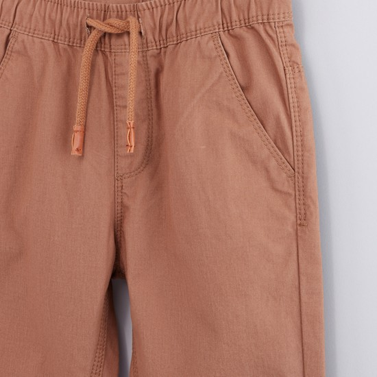 Pocket Detail Jog Pants with Drawstring