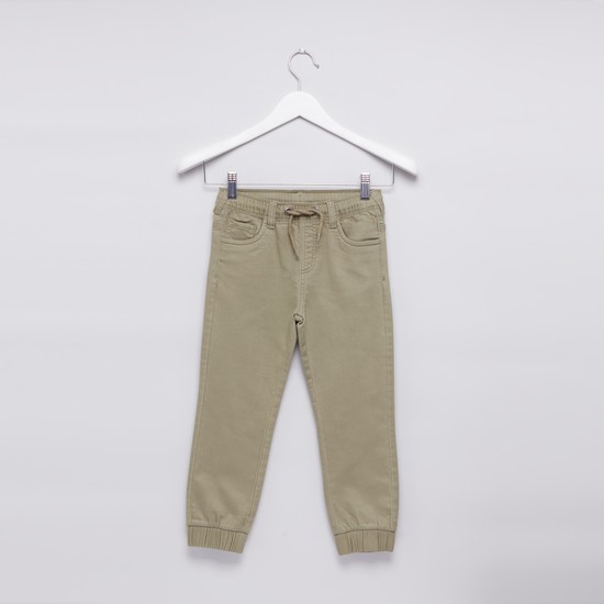 Pocket Detail Jog Pants