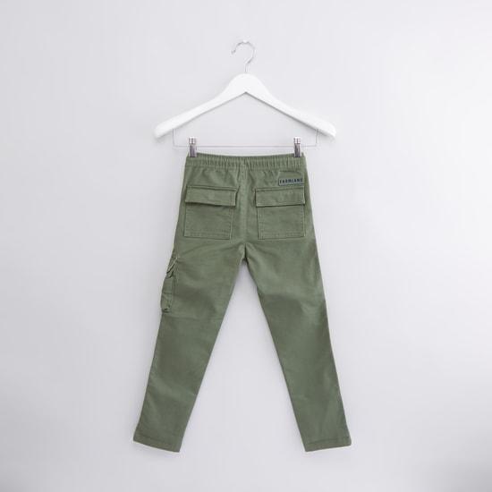 Full Length Pants with Drawstring