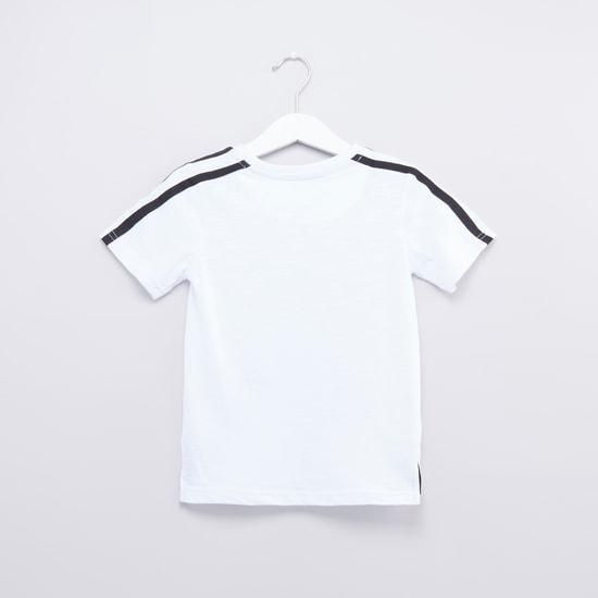 Printed T-shirt with Shorts Set