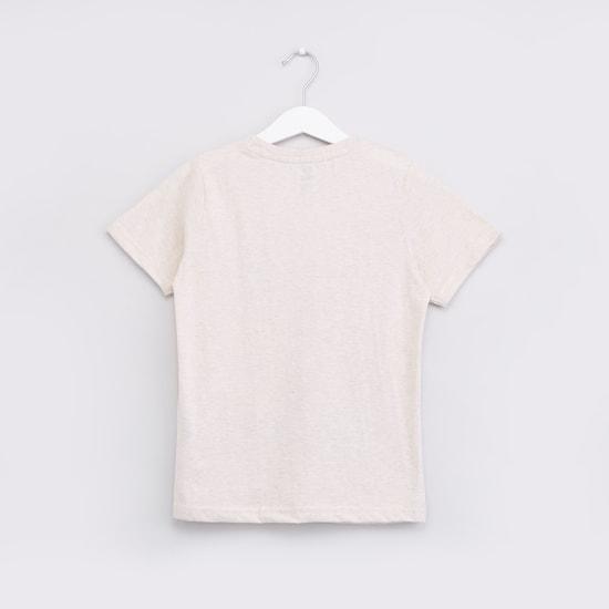 New York Manhattan Printed Round Neck T-shirt