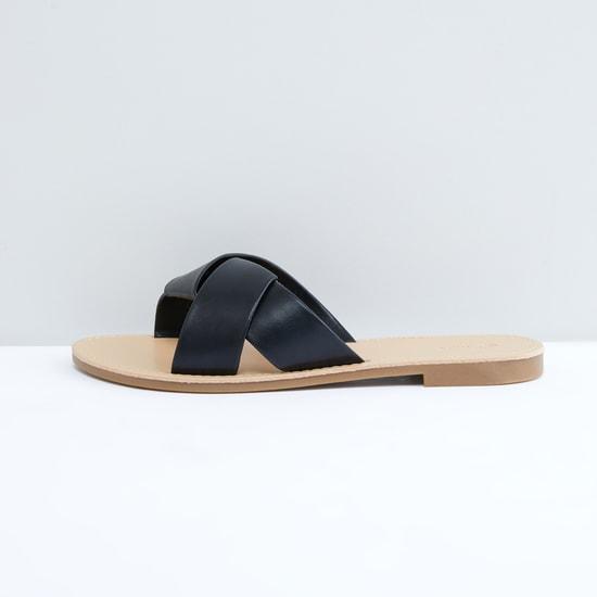 Cross Strap Slides