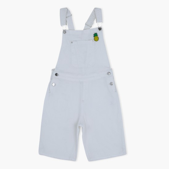 Dungaree with Pocket Detail and Adjustable Straps