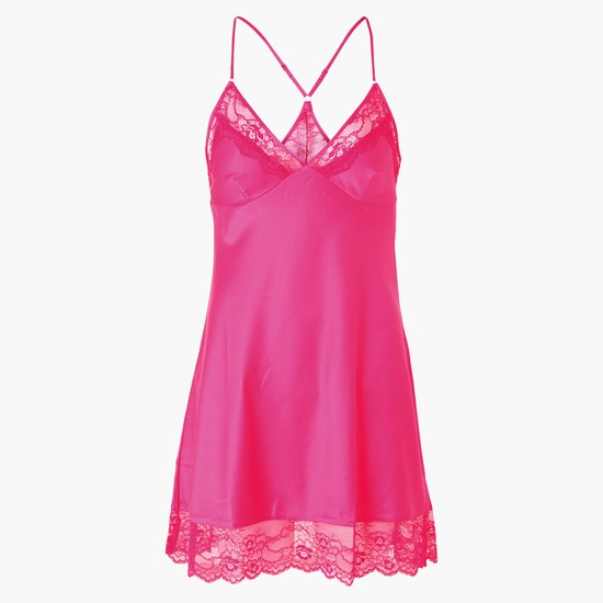 Lace Detail Baby Doll